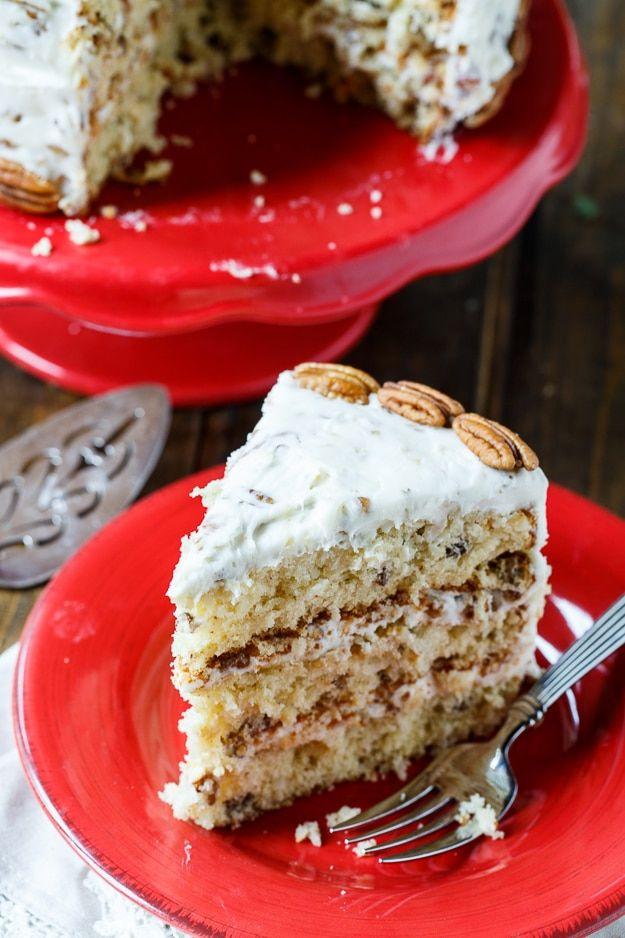 Italian Cream Cake Recipe Karen Pinterest Cake Italian