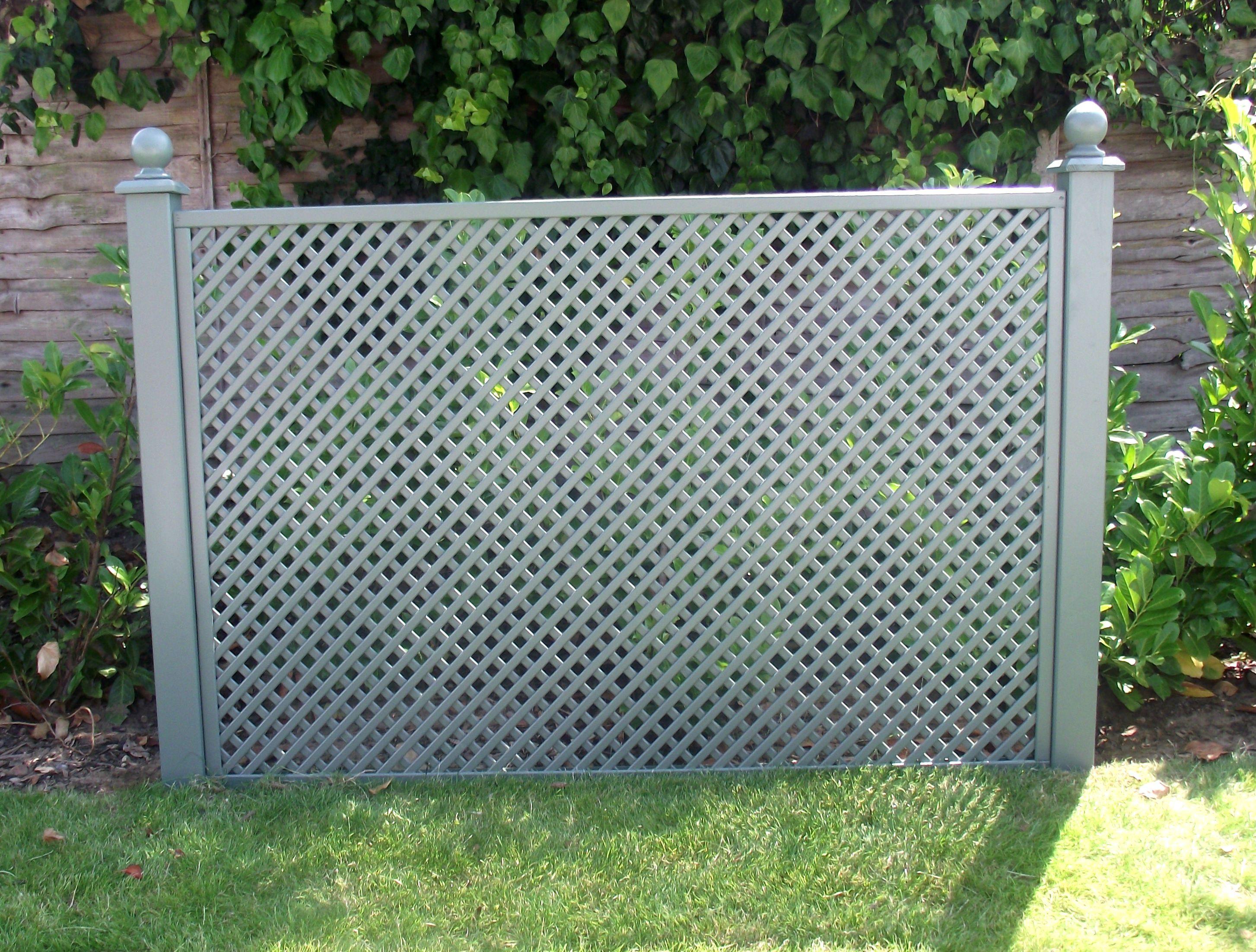 Diagonal trellis panel 40mm gap size pre painted garden diagonal trellis panel 40mm gap size pre painted garden trellis direct baanklon Gallery