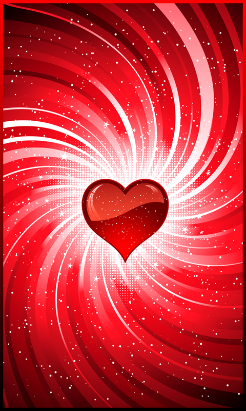 Beautiful red heart embellished in white repinned by t j - Heart to heart wallpaper ...