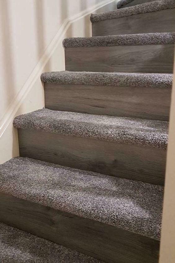 Home Stairs Stair Carpet Floor Stair Tread Hall Beige Wood Architecture Hardwood Flooring Furniture Stair In 2020 Diy Stairs Carpet Staircase Stair Renovation