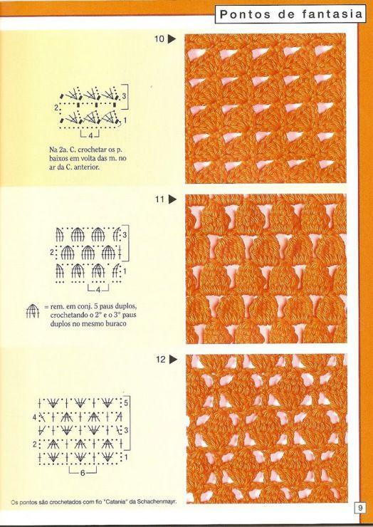 Gallery.ru / Фото #8 - Pontos de croche 205 идей - accessories