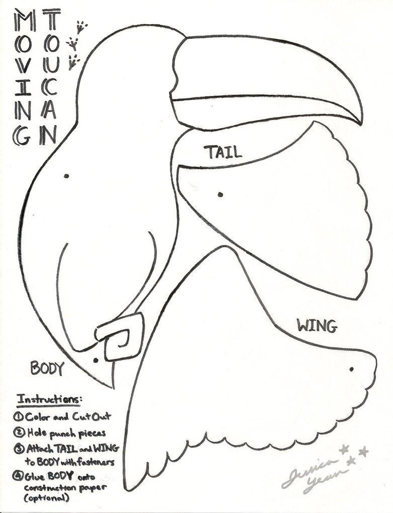 Toucan by JessicaYean.deviantart.com on @DeviantArt