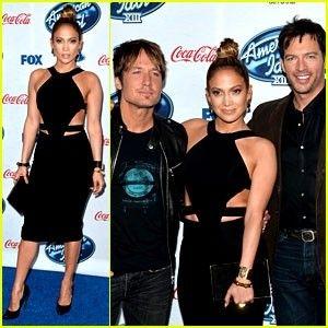 Jennifer Lopez & Keith Urban: American Idol Top 13 Celebration!