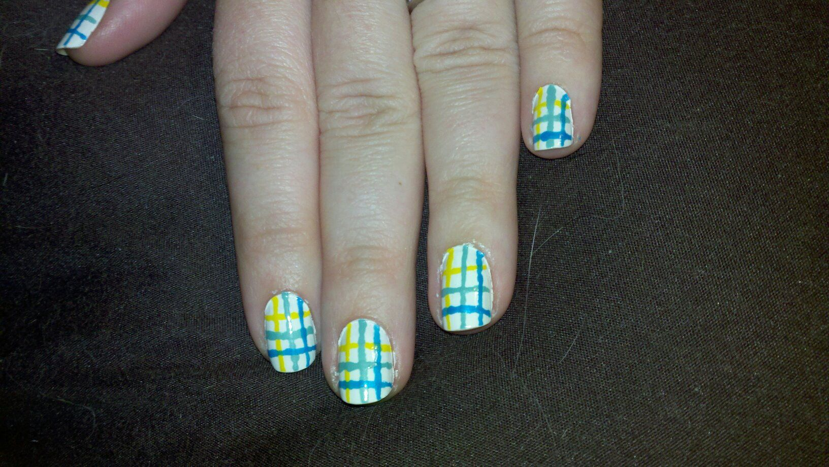 Nail art-inspired by the Great Strides for Cystic Fibrosis walk ...