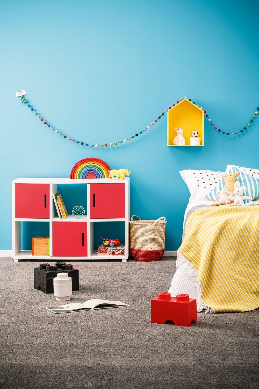 Teal Color Bedroom