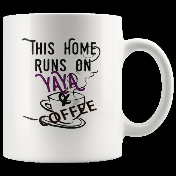 YaYa Coffee Mug White 11oz / StarBrite Nana Mugs, Pop