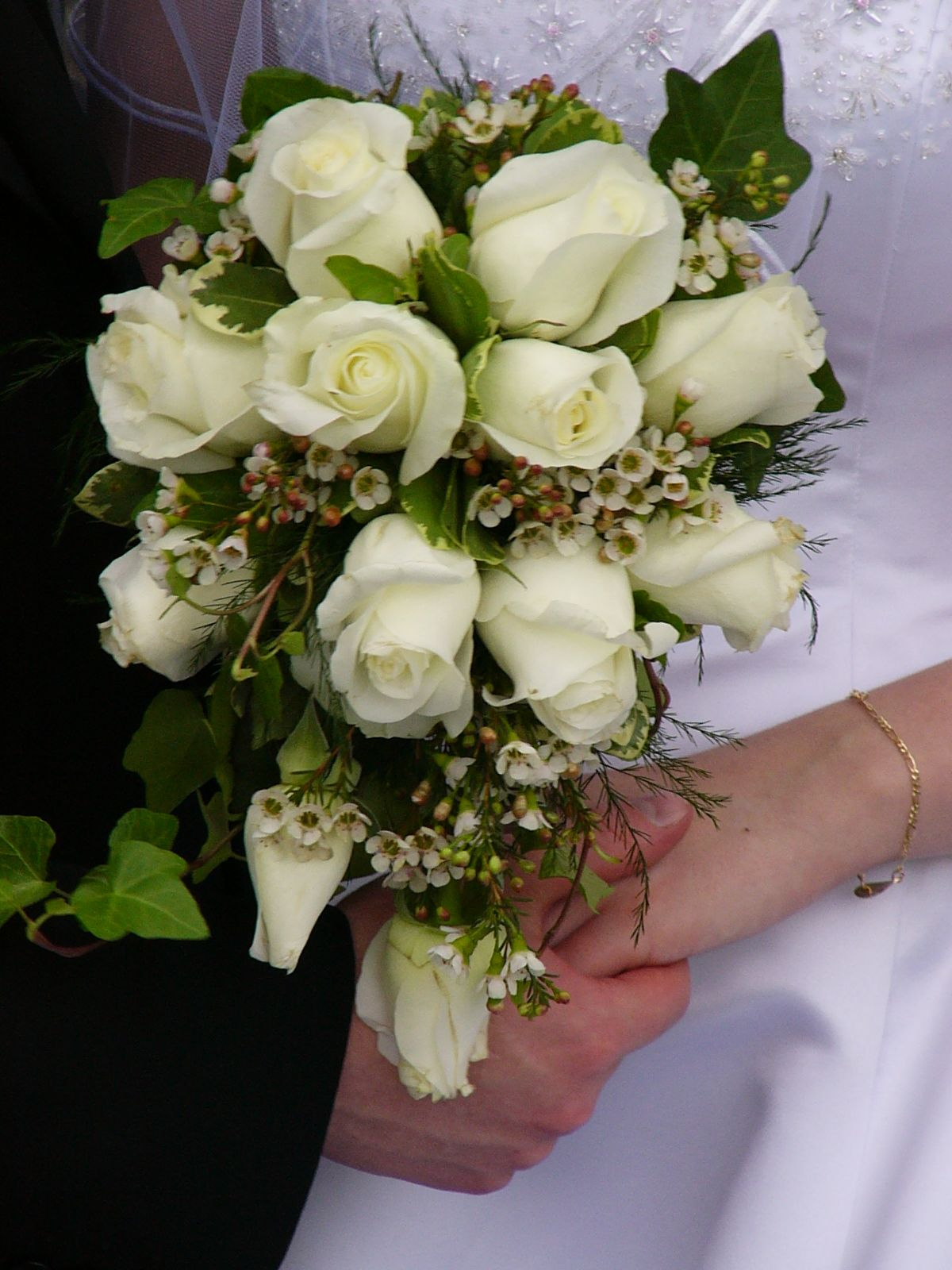 Brides Wedding Bouquets With Hydrangeas Beautiful And Gorgeous