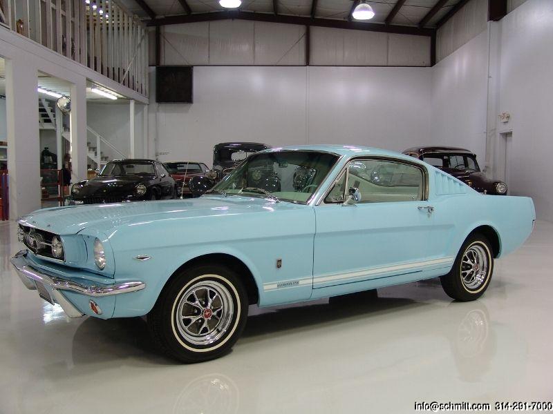 DANIEL SCHMITT & CO CLASSIC CAR GALLERY PRESENTS: 1965 FORD MUSTANG FASTBACK