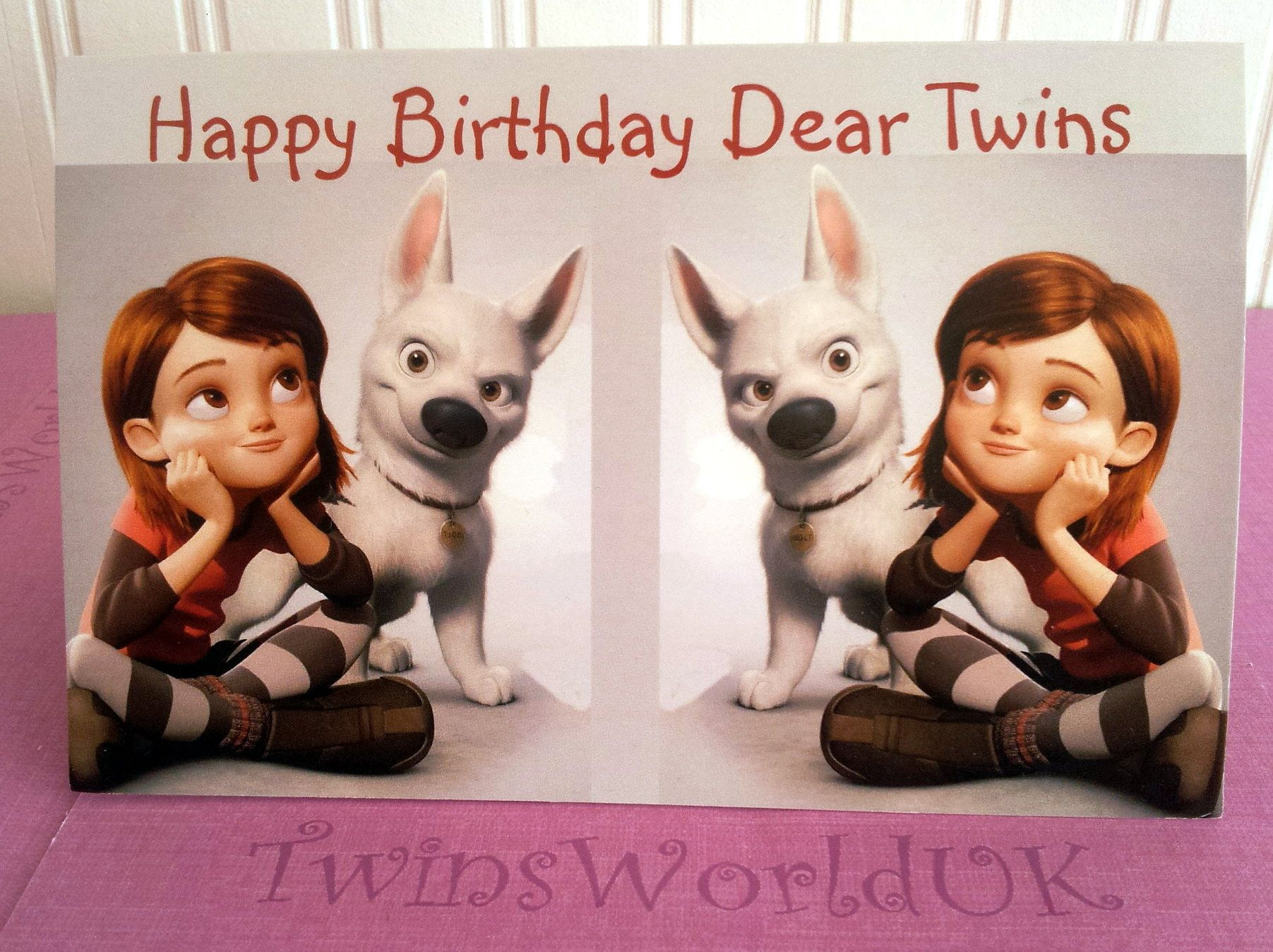 Happy Birthday Dear Twins - Bolt Rating: Not Rated Yet £1.60