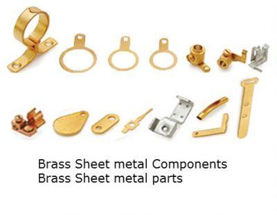 Brass Sheet Metal Components Electronics Eee Electrical Projects Sheet Metal Metal