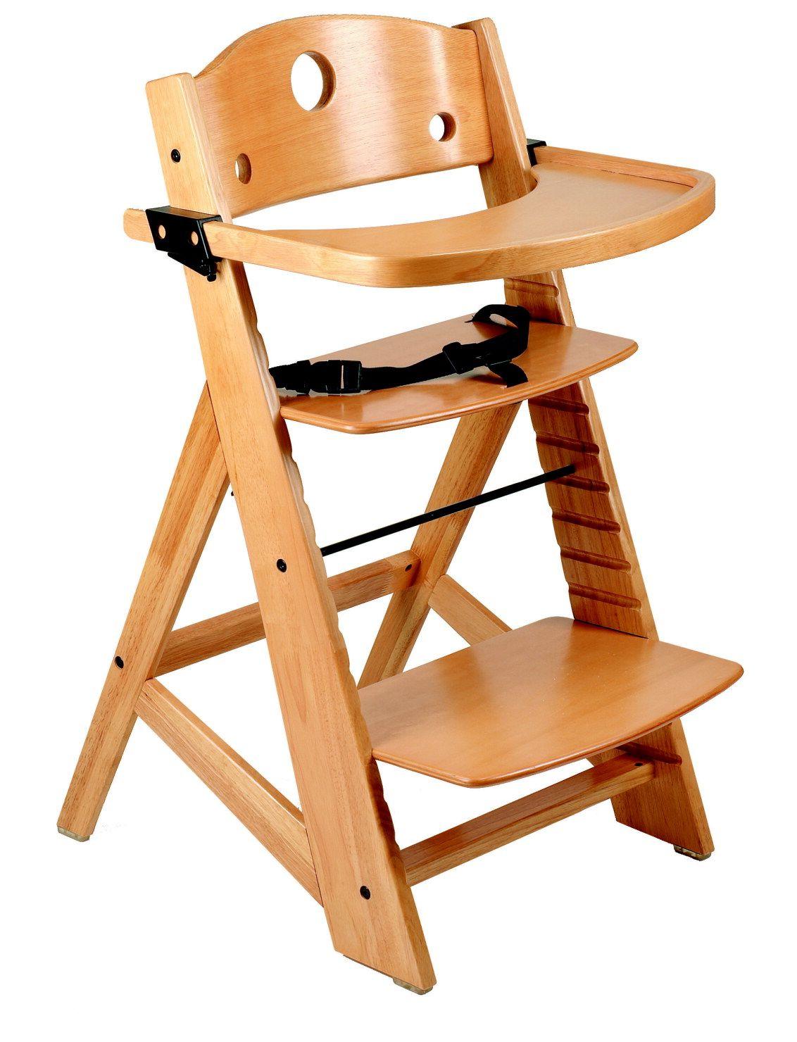 Der Svan Hochstuhl Ist Ein Windiger Alleskonner Dessen Gebogenes Holz Die Stufenlose Einstellung Von Sitzhohe Und Tiefe Wie