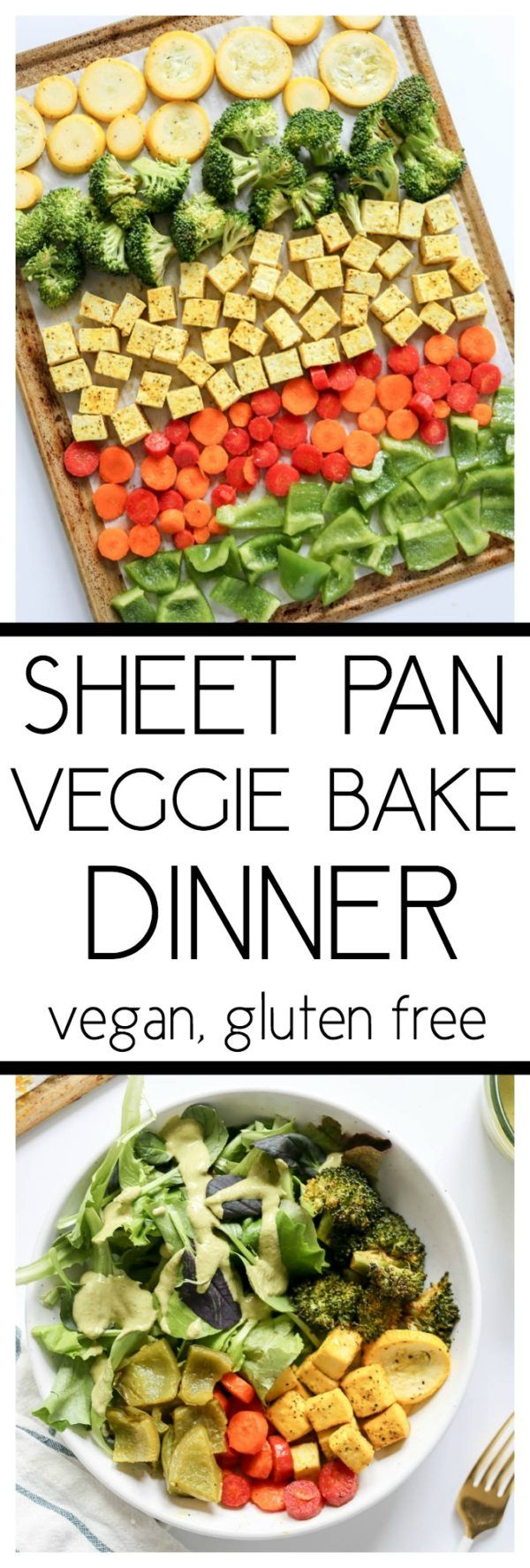 Sheet Pan Veggie Bake Dinner
