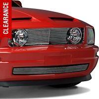 Chrome Gt Style Grille W Angel Eye Fog Lights 05 09 V6 Mustang Grille 2009 Mustang Mustang