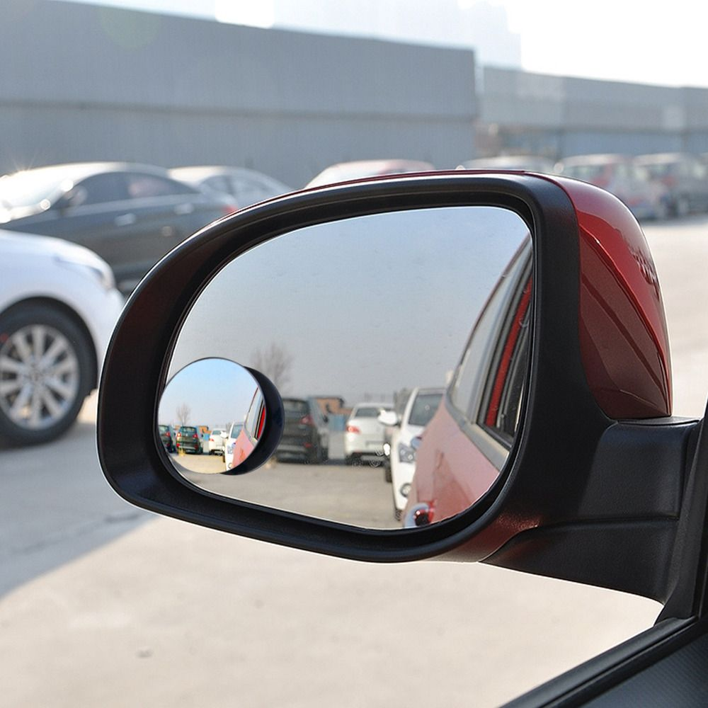 자동차 후면보기 볼록 거울 와이드 앵글 라운드 볼록 거울 360 회전 360도 광각 맹점 자동차 외부 액세서리