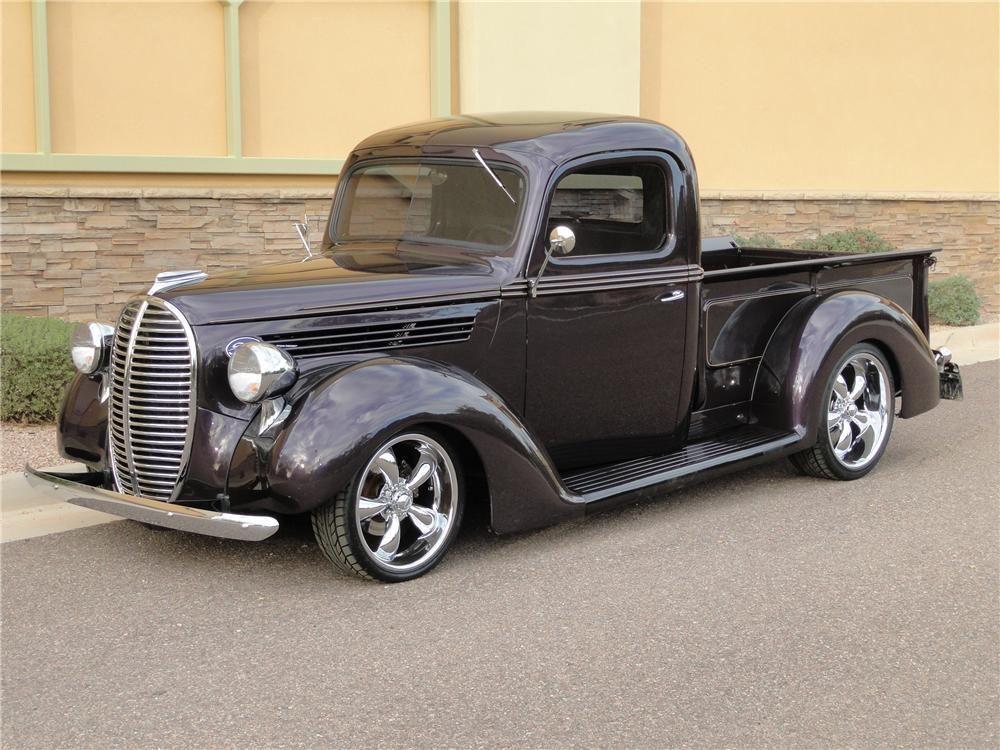 1939 Ford Custom Pickup Barrett Jackson Auction Company