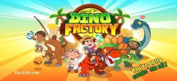 Dino Factory MOD Unlimited Money apk (With images