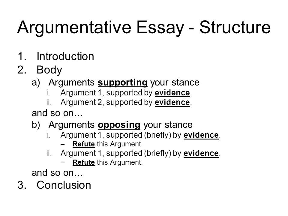 002 the structure of argumentative essay Yahoo Image Search
