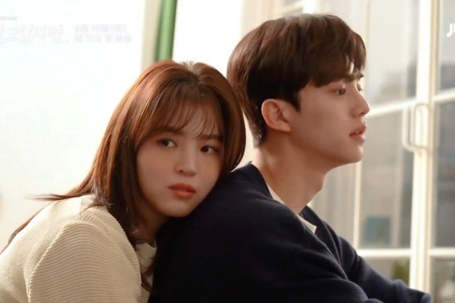 """Watch: Song Kang And Han So Hee Make A Picture-Perfect Couple Behind The Scenes Of """"Nevertheless"""""""