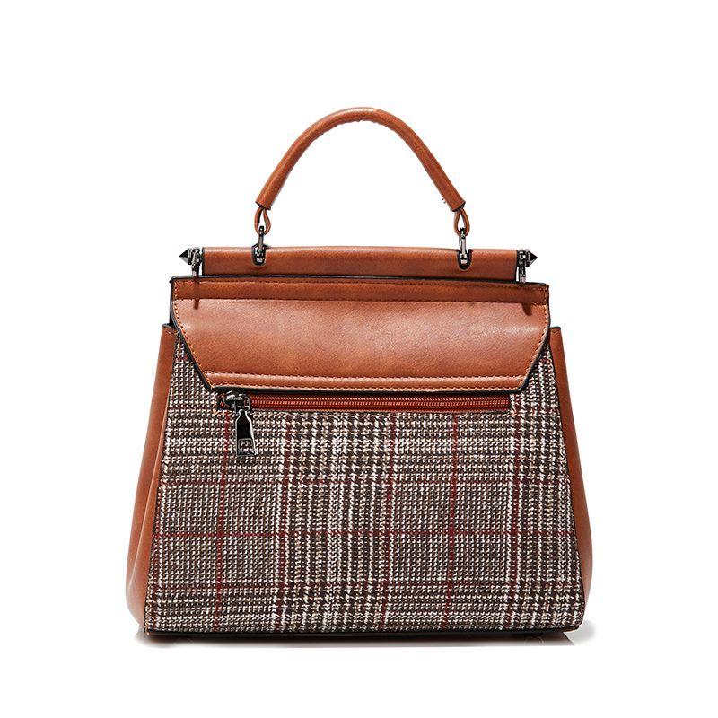 e82ab7e239 Voless Brand High Quality PU Leather Women Bag With Fur Ball Women Shoulder  Bag Soft Woolen