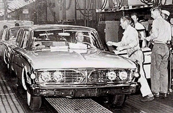 On November 19 1959 The Last Edsel A 1960 Villager Came Off