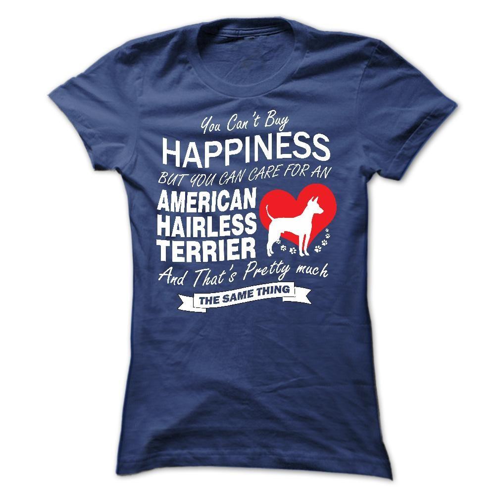 I Love My American Hairless Terrier T-Shirts Hoodie Tees Shirts