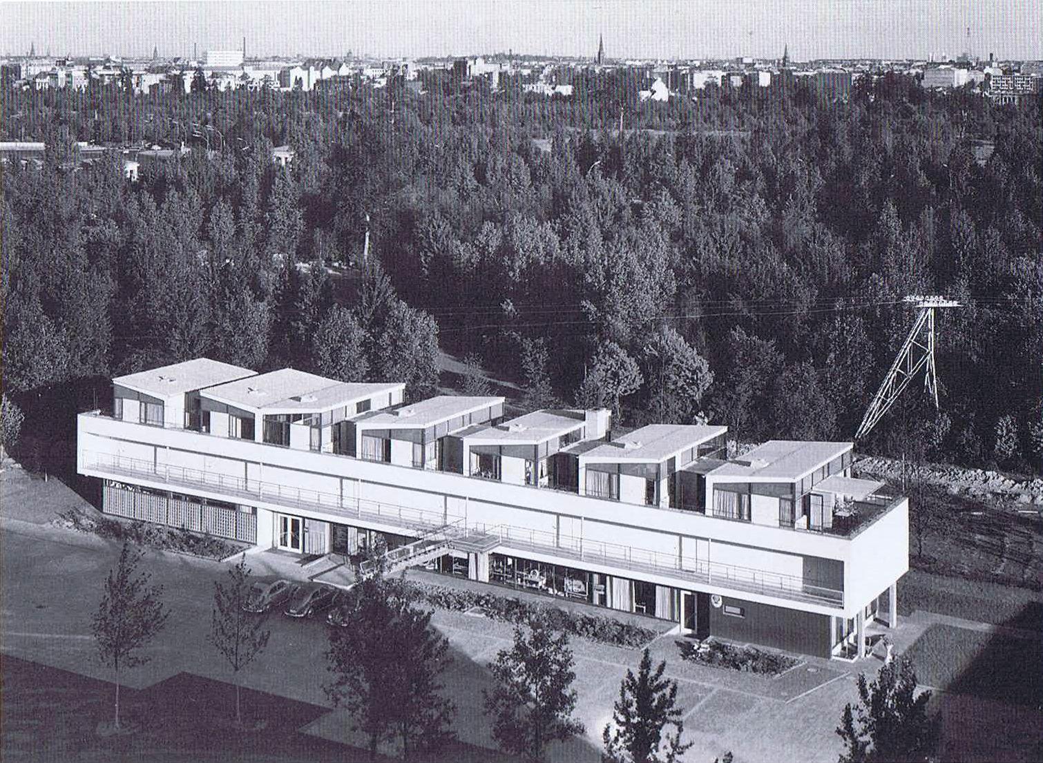 Paul Baumgarten > Casa Eternit. 1957 | Architecture | Pinterest ...