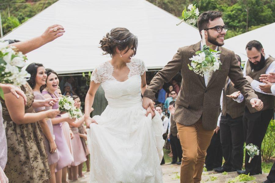 """Casamento """"com cara e jeito de casa de vó"""" - Sarah & Gustavo ..."""