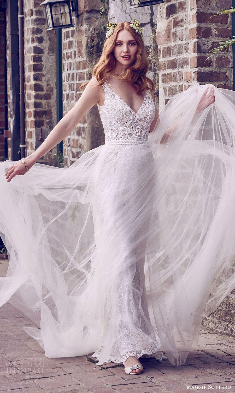 38+ Sheath wedding dress with overskirt ideas in 2021