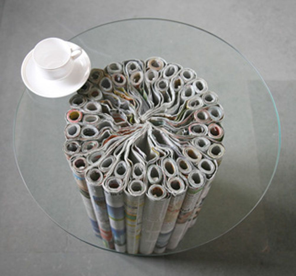 recycled paper furniture. Recycle Newspaper Recycled Paper Furniture