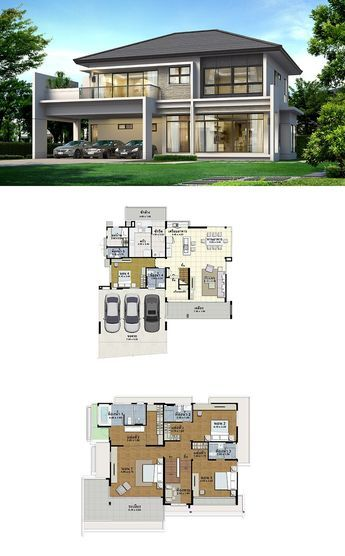Land and houses also best great large house plans images in rh pinterest