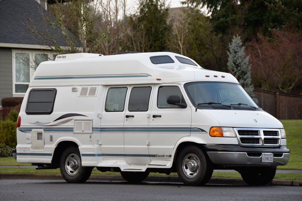 2001 Pleasure Way Wide Body Class B Camper Van With Only 55000 Original Miles
