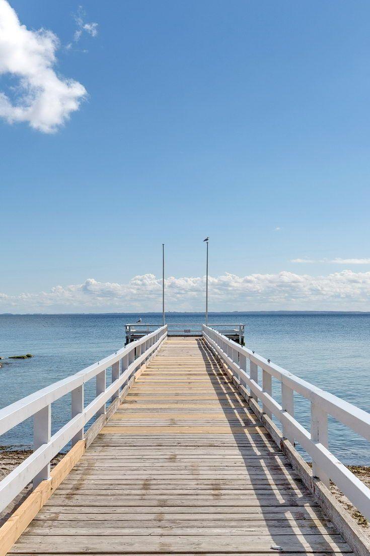 Seebrücke in Grömitz an der Ostsee. Ferien ostsee
