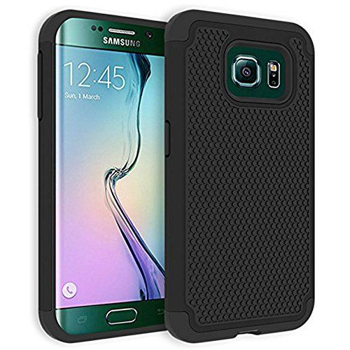 VAKOO For Samsung Galaxy S6 Case Armor [Ultra Fit] Premium TPU Grip Bumper Protection Slim Fit Protective Hybrid Matte Hard Case for Galaxy S6 /Galaxy S VI - Black Vakoo http://www.amazon.com/dp/B00VLXXVVA/ref=cm_sw_r_pi_dp_GIlovb09P767F