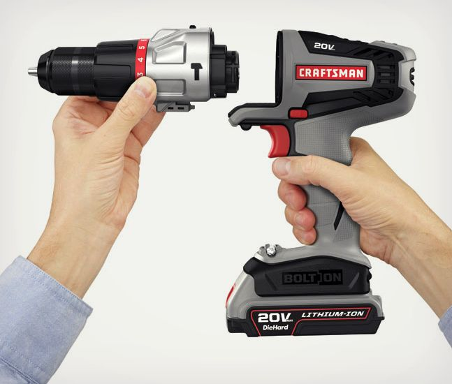 Craftsman Bolt On Modular Power Tools | Power tools, Tools