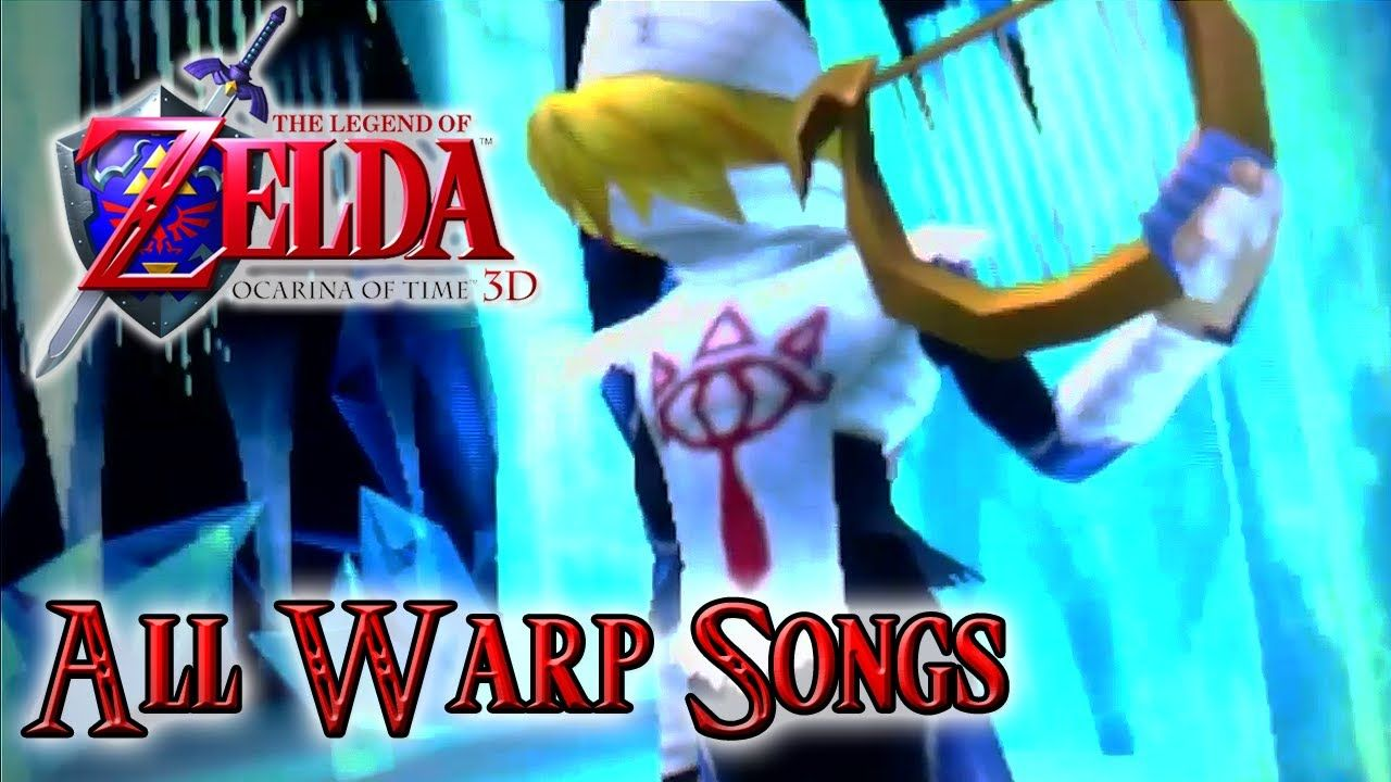 Let S Play The Legend Of Zelda Ocarina Of Time 3ds All Warp