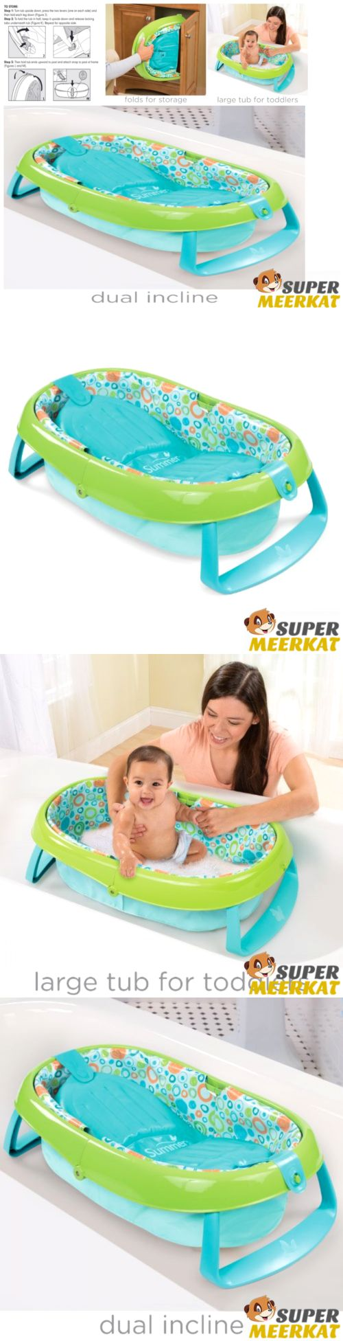 Baby Tub Seat Bath Bathtub Shower Spa Wash Infant Newborn Girl Boy ...