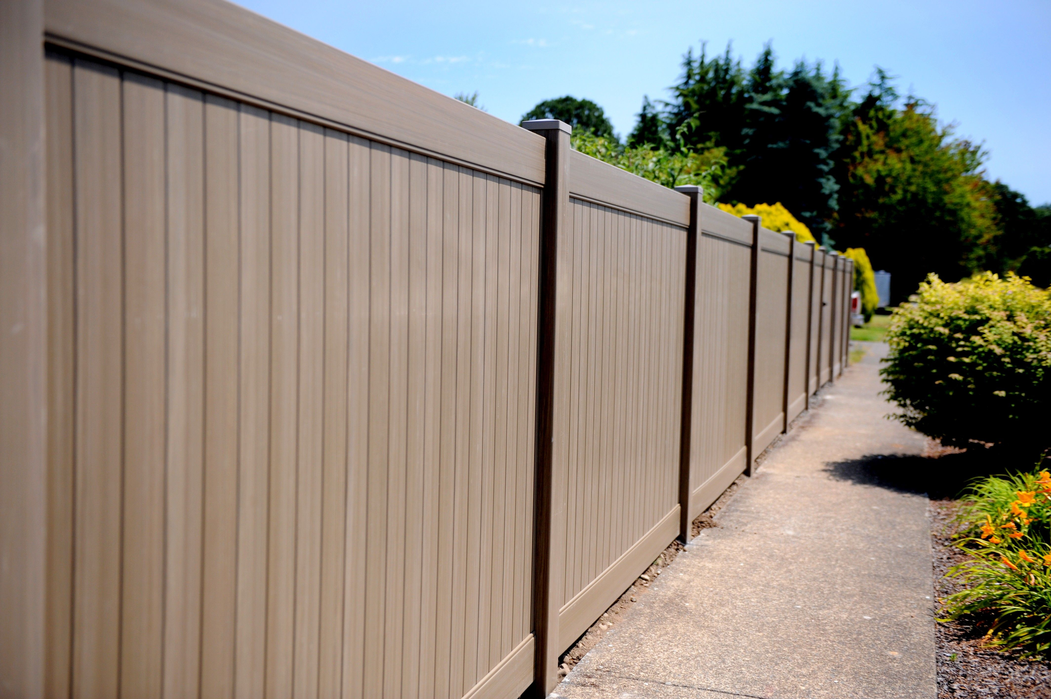 anti oxidation wood plastic fence price cheapest wpc fence panels