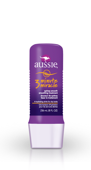 Love #Aussie #3MinMiracle. It truly is a miracle. I leave this in my hair for about 5 mins then I rinse with COLD water. Use about once a week. Super cheap too