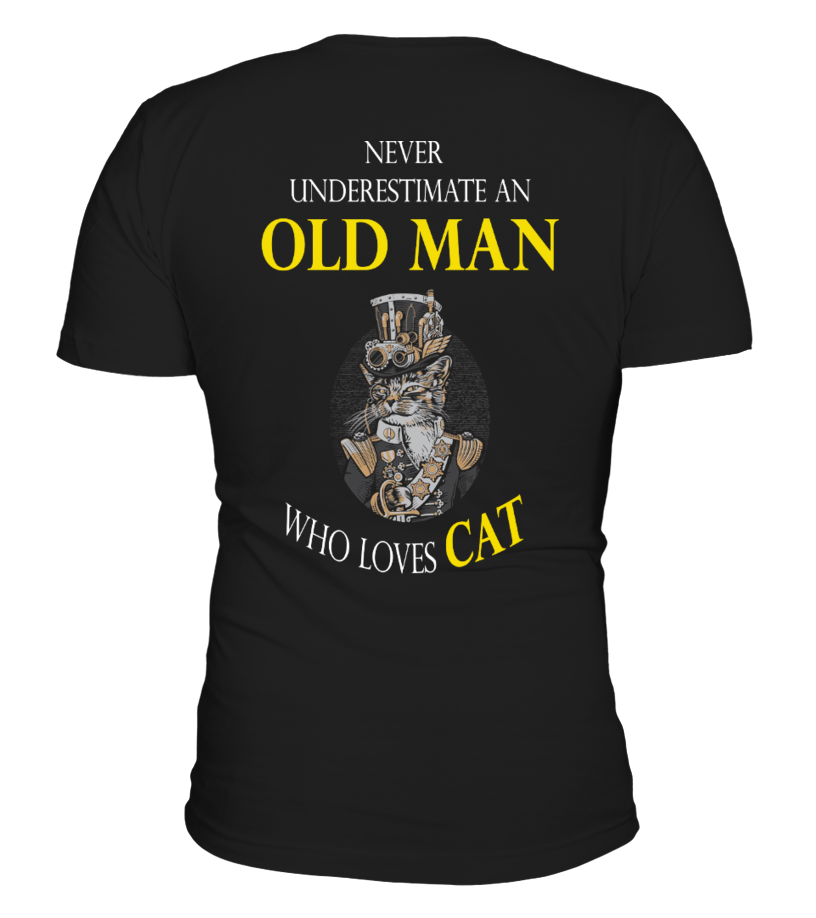 Never underestimate an old man!