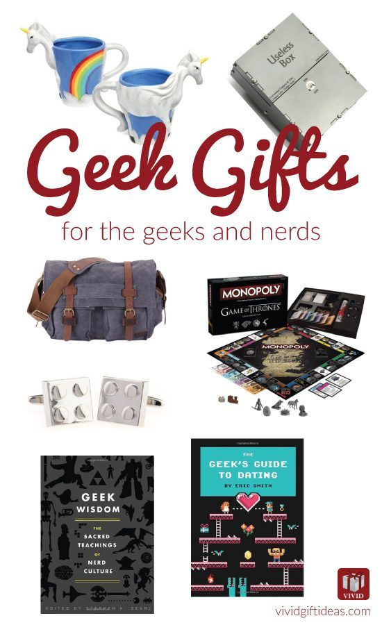 Are you shopping for a few nerdy family members? For the