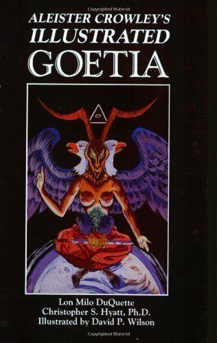 Aleister Crowley's Illustrated Goetia: Sexual Evocation Third edition by Crowley, Aleister; Hyatt, Christopher S.; Duquette, Lon Milo published by New Falcon Publications Paperback null http://www.amazon.com/dp/B008Q6N7U0/ref=cm_sw_r_pi_dp_M7s2ub0X2B9NS
