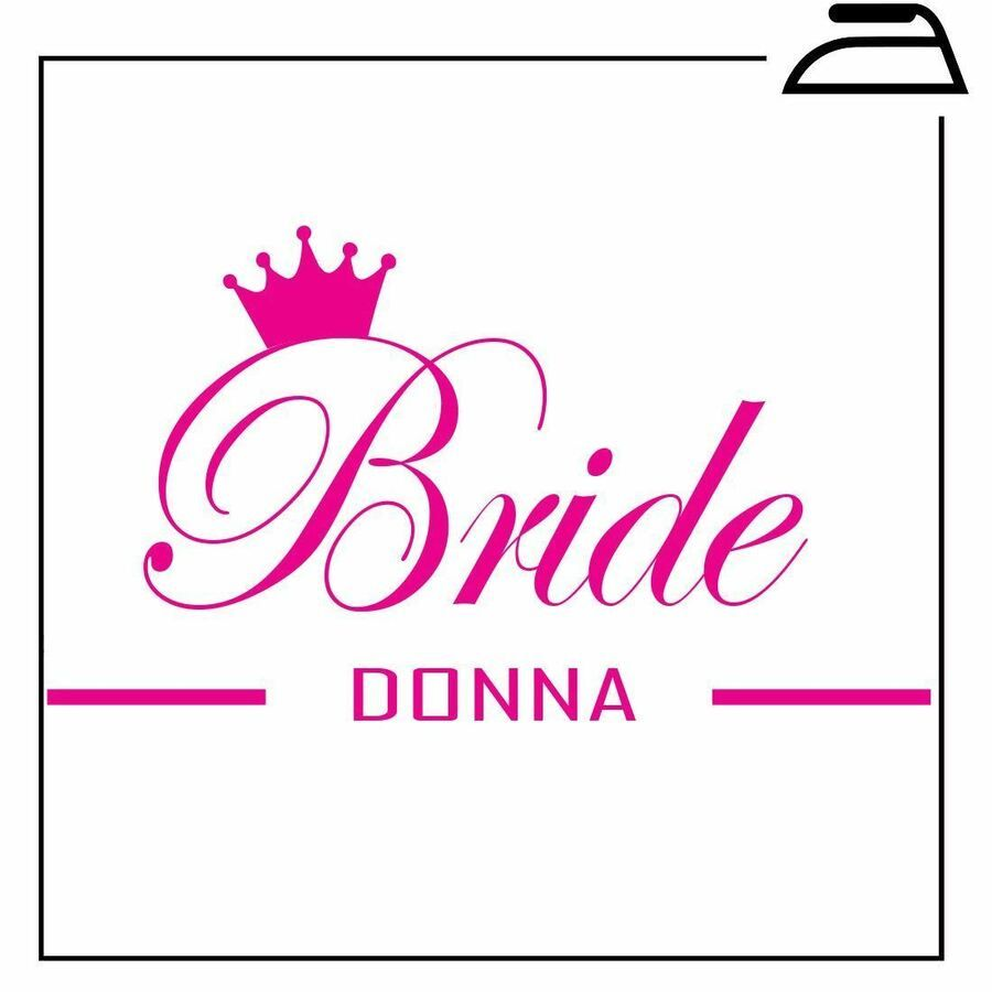 Bridesmaid Flower Girl Hen Party Bride Iron On Transfer Personalised T Shirt
