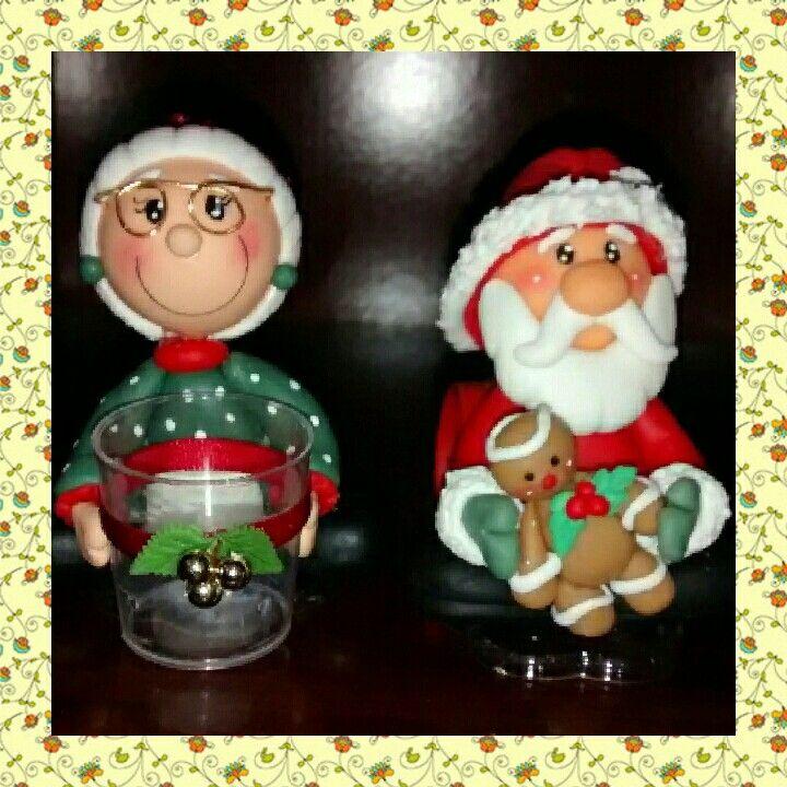 Então é natal! Casal Noel.