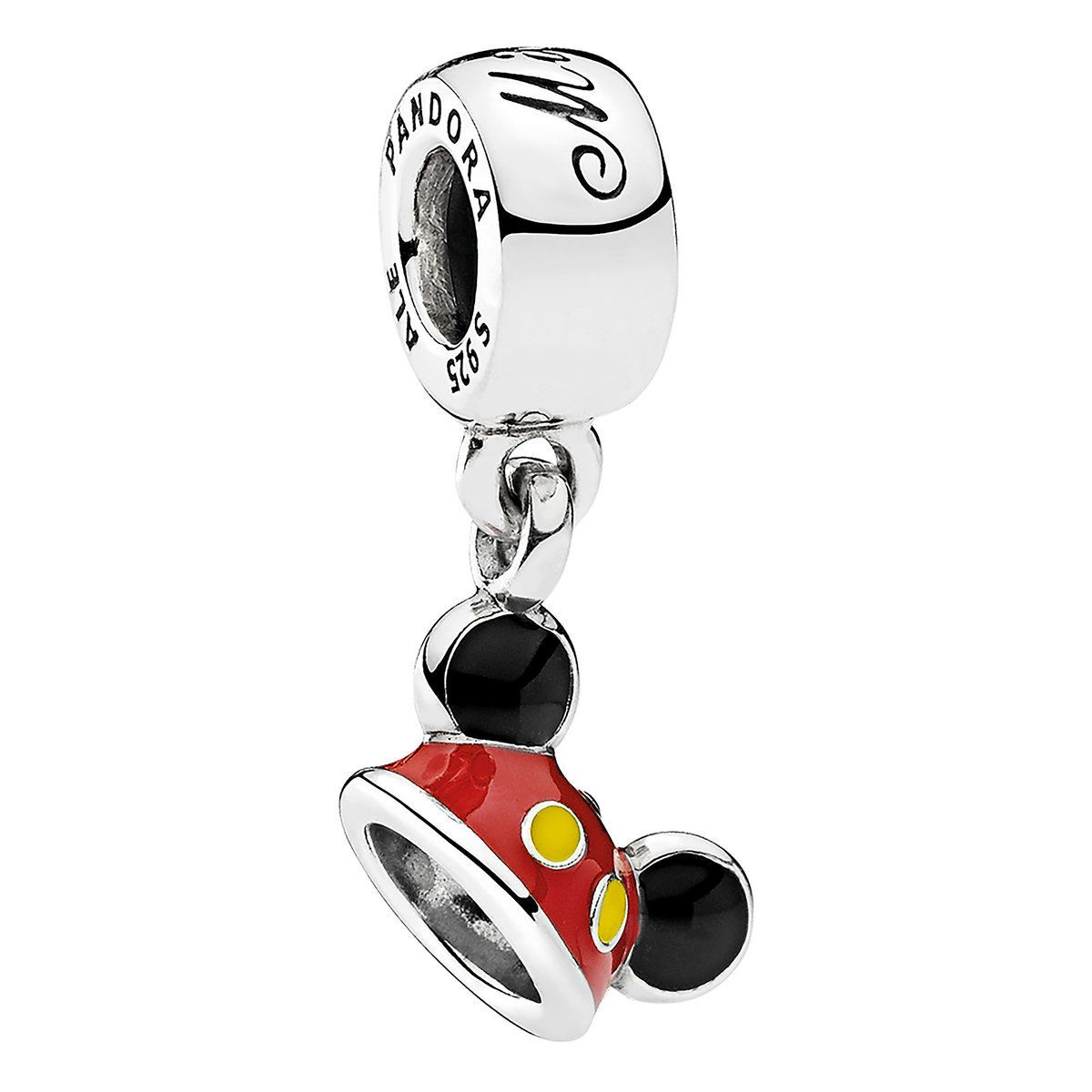 84806779c Mickey Mouse ''Mickey Ear Hat'' Charm by Pandora Jewelry in 2019 ...