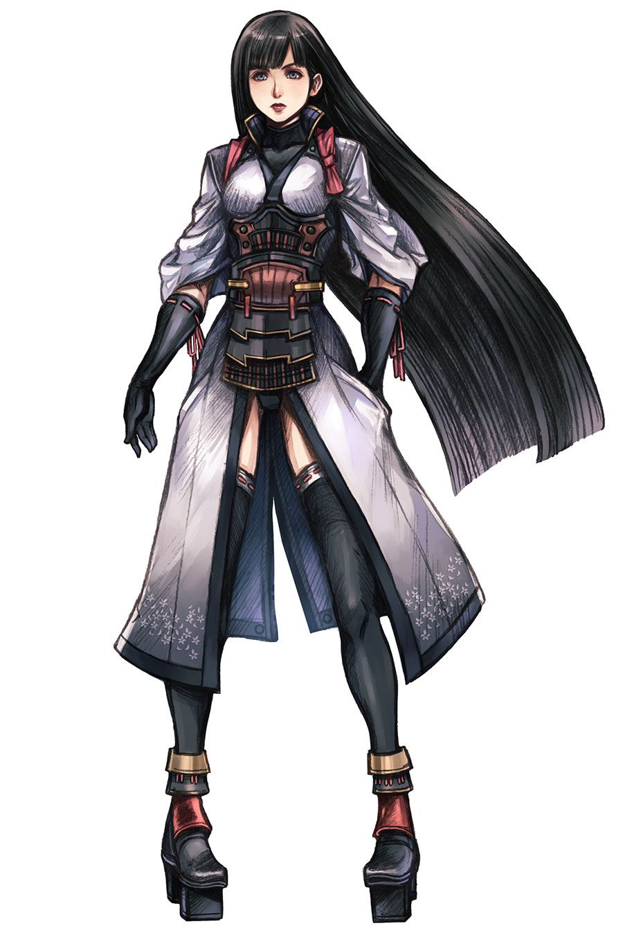Character Design Xenoblade : Female character design occult pinterest