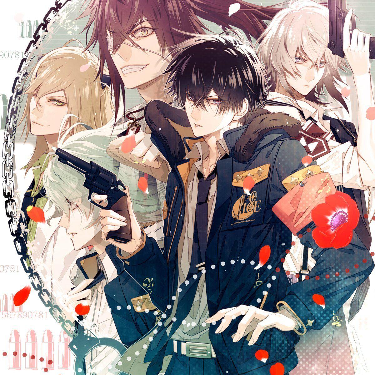 【公式】Collar×Malice on Hot anime boy, Anime, Anime chibi