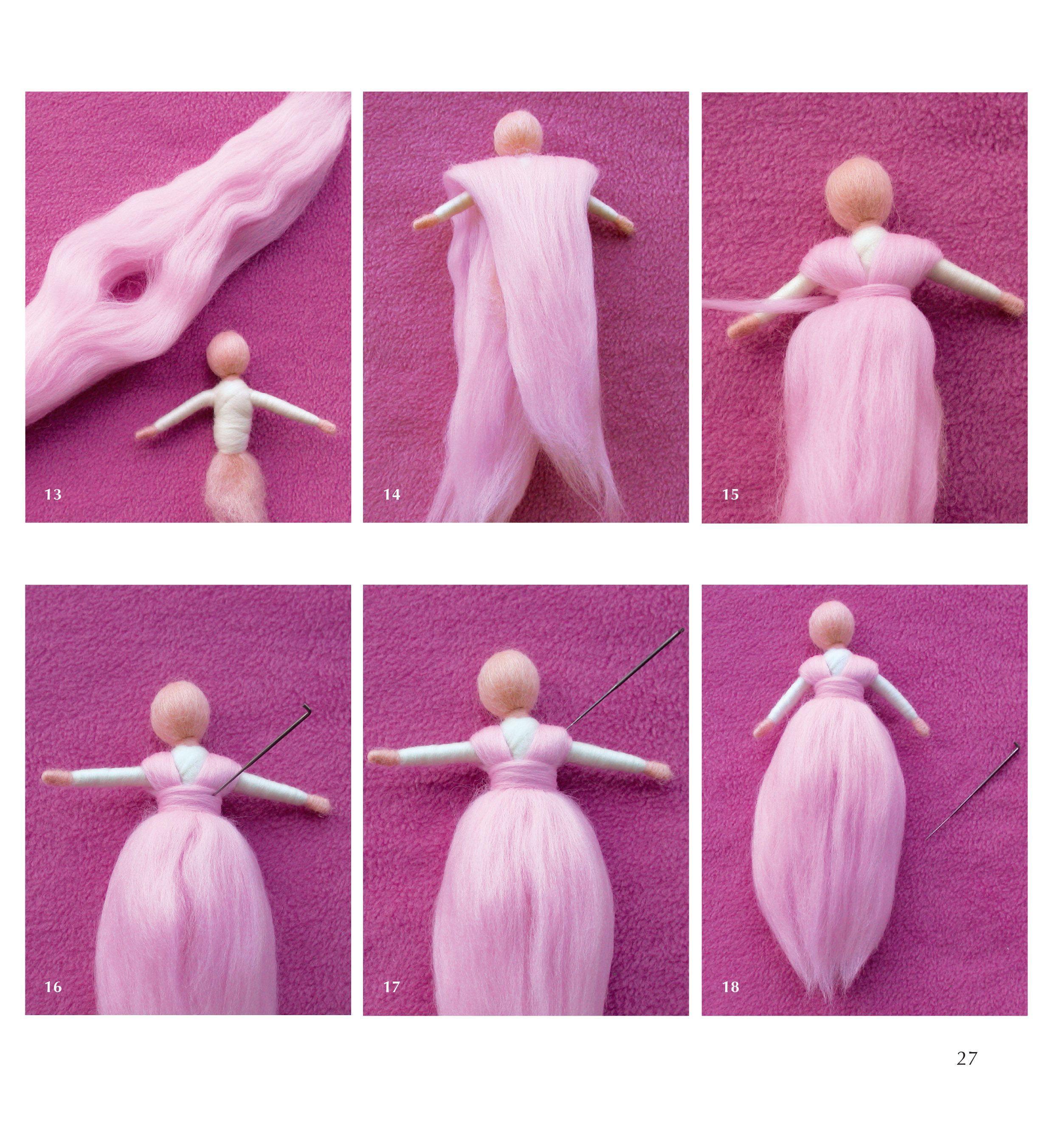 Fairies and Nymphs Through the Seasons Magic Wool Mermaids