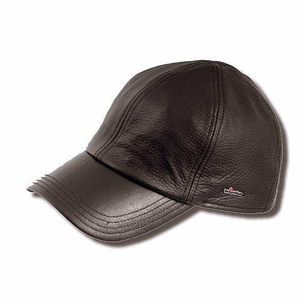 Wigens Kal Leather Baseball Cap  e1597735bb4
