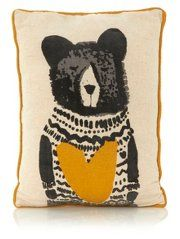 George Home Bear Hug Cushion 40x30cm