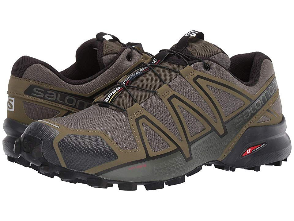 Salomon Speedcross 4 Men's Shoes Grape LeafBurnt Olive